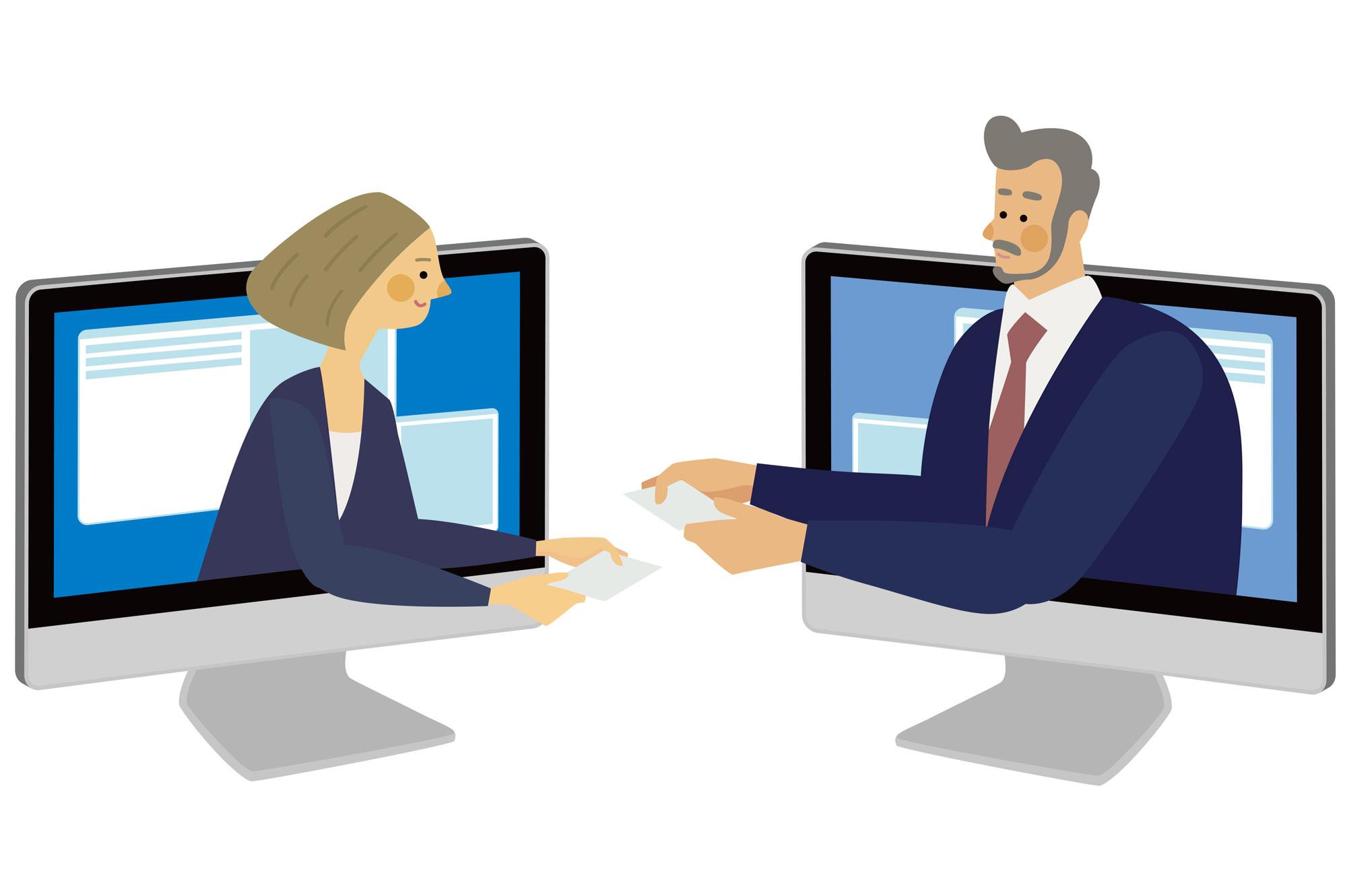 クラウドシステム導入による営業活動の改善事例