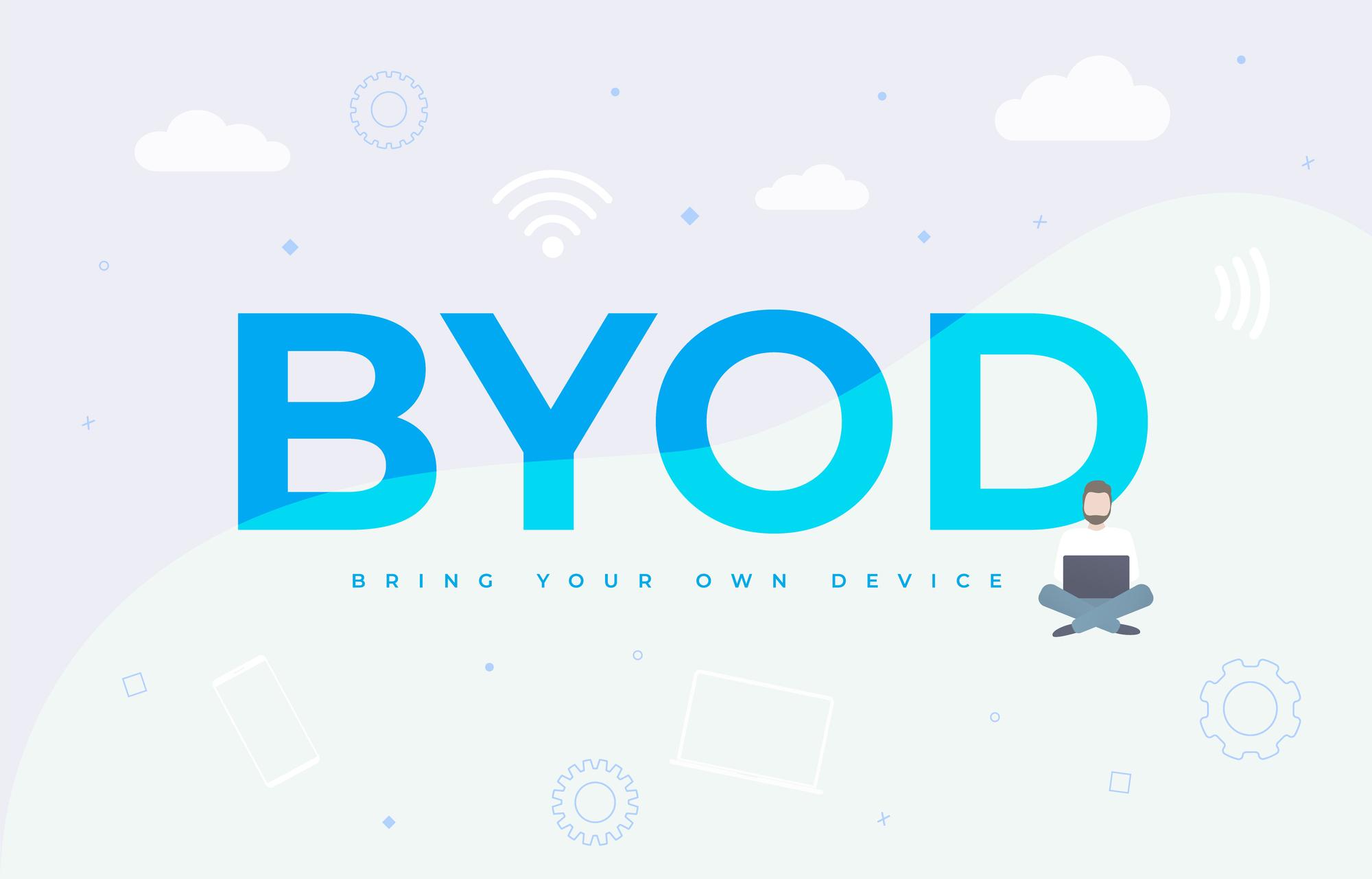 BYODとは?導入時におさえたいポイントやメリット、デメリットを解説